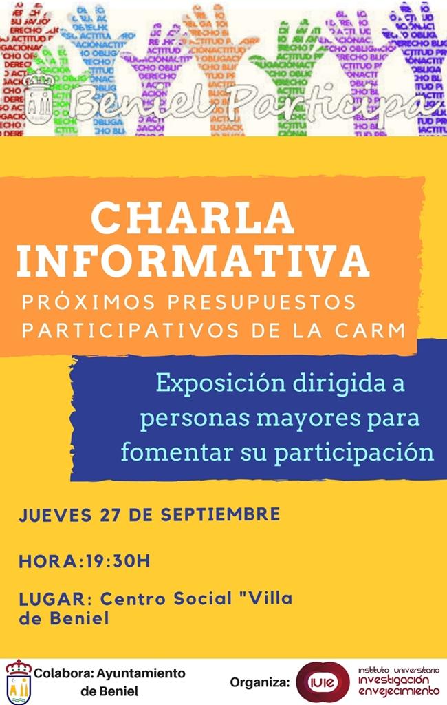 El Ayuntamiento De Beniel Te Informa