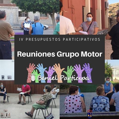 Desarrolladas nuevas reuniones con el Grupo Motor para concretar las propuestas de los IV Presupuestos Participativos